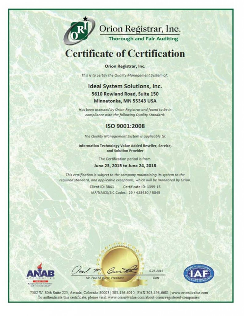 ISSI-Certificate-3841-ISO-9